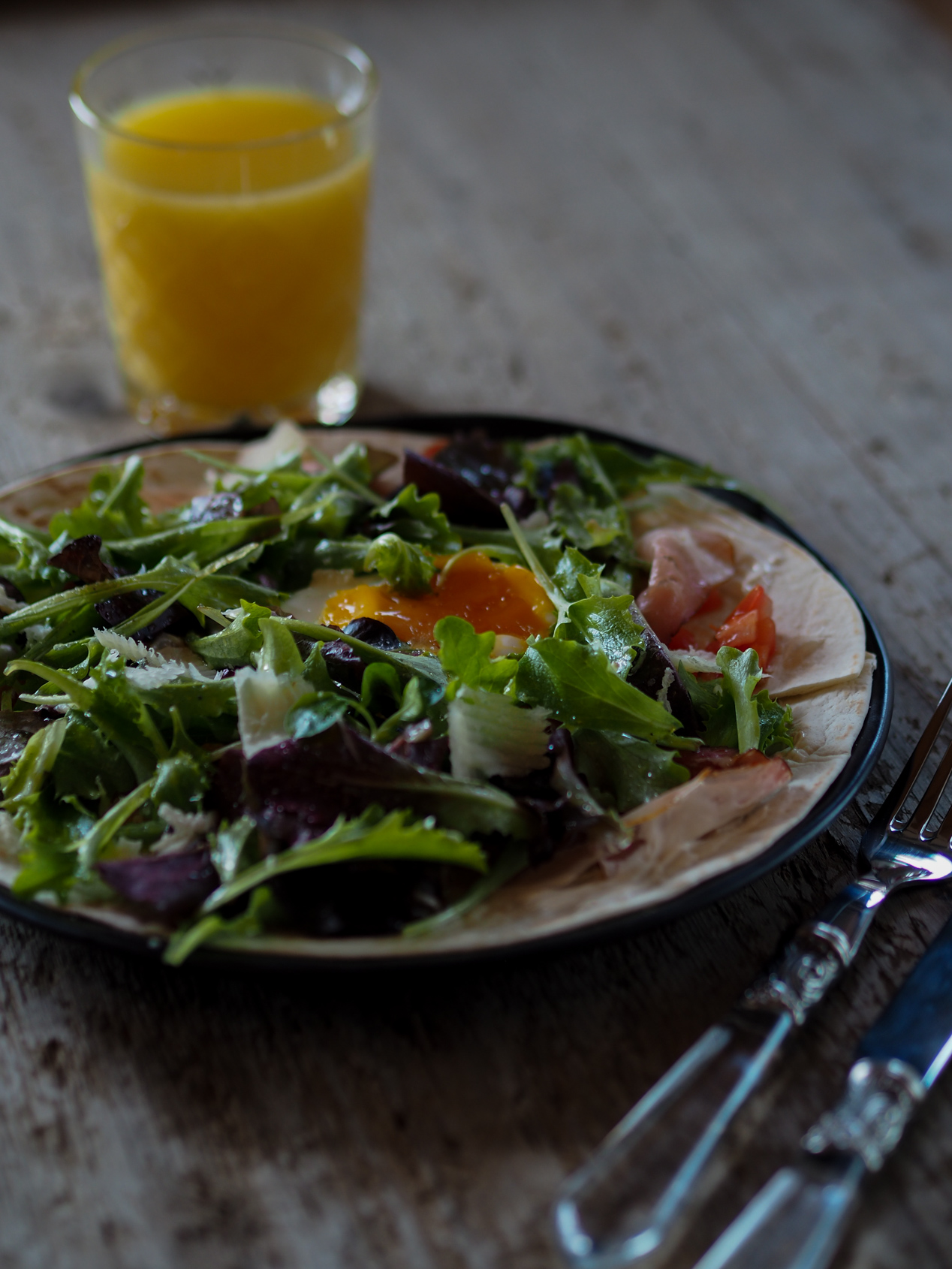 Cook – gesunde und leckere Frühstück Quesadilla