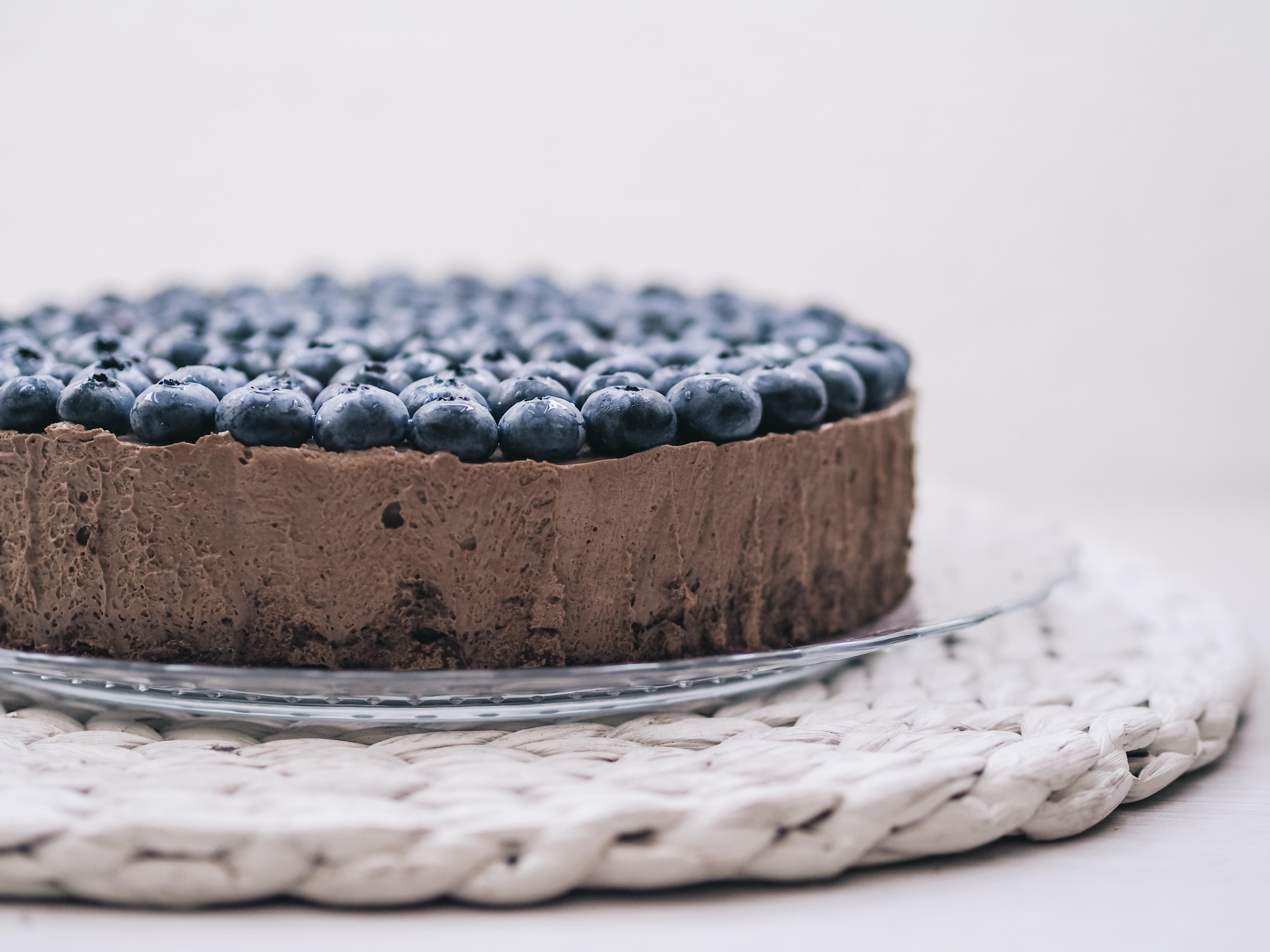 Cook – Schokoladen Mousse Torte mit Heidelbeeren