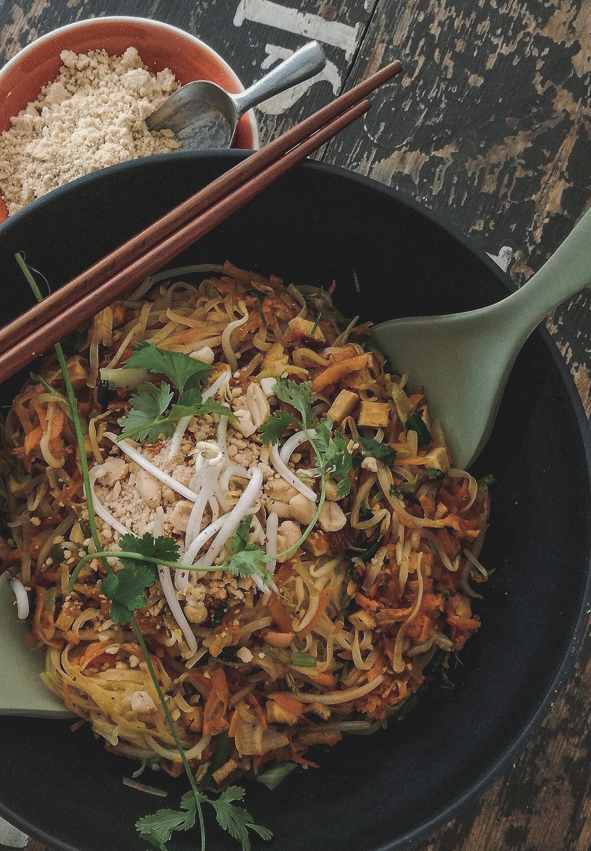 Gastbeitrag, Rezept – Vegan Pad Thai Noodles