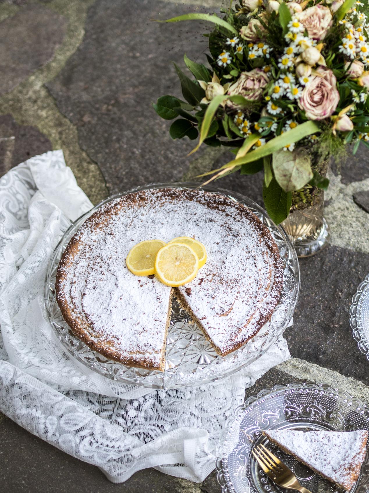 Rezept | Low Carb | Spanischer Zitronen Mandelkuchen