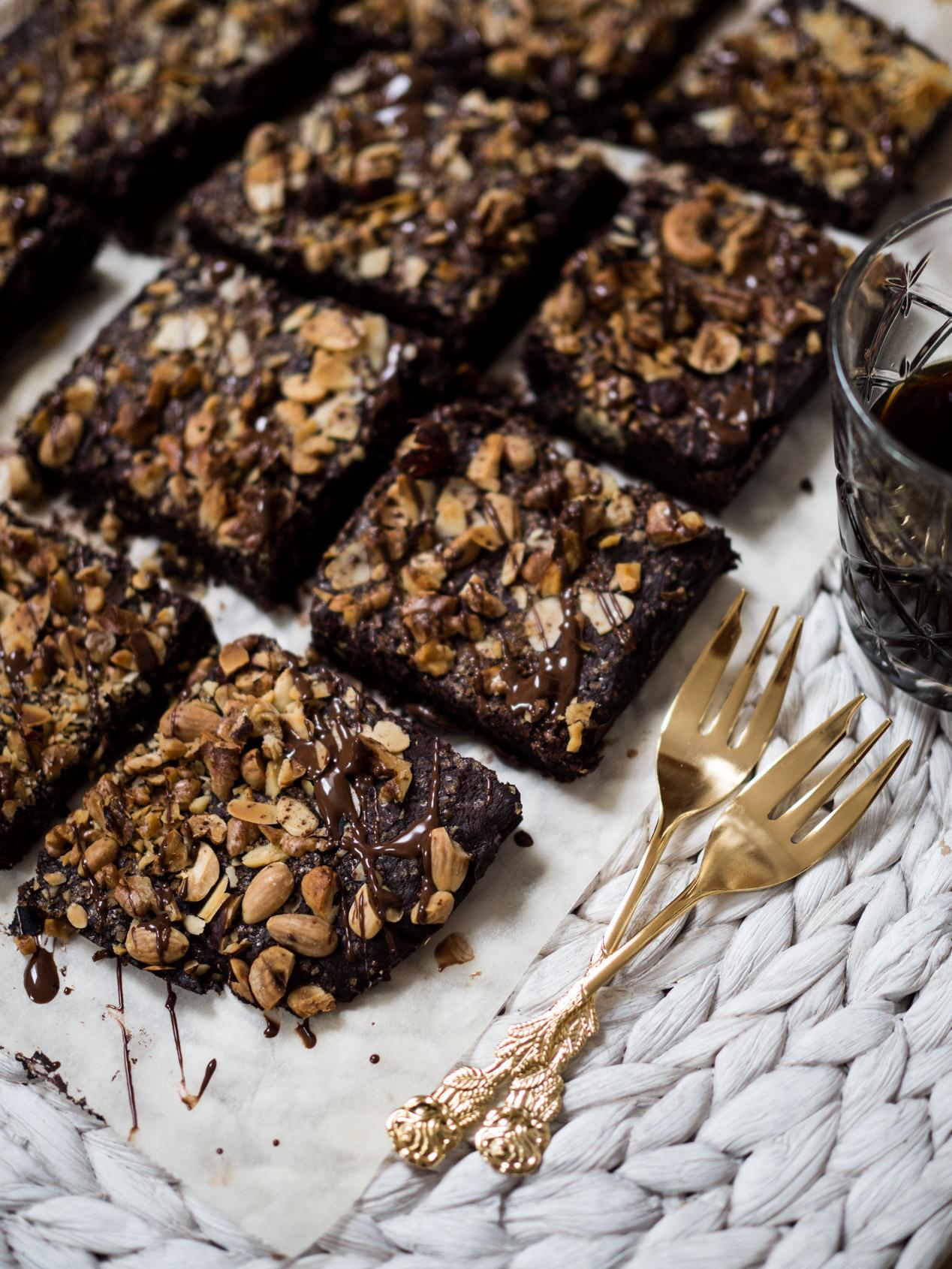 Rezept | Bananen-Nuss-Schokoladen-Brownies