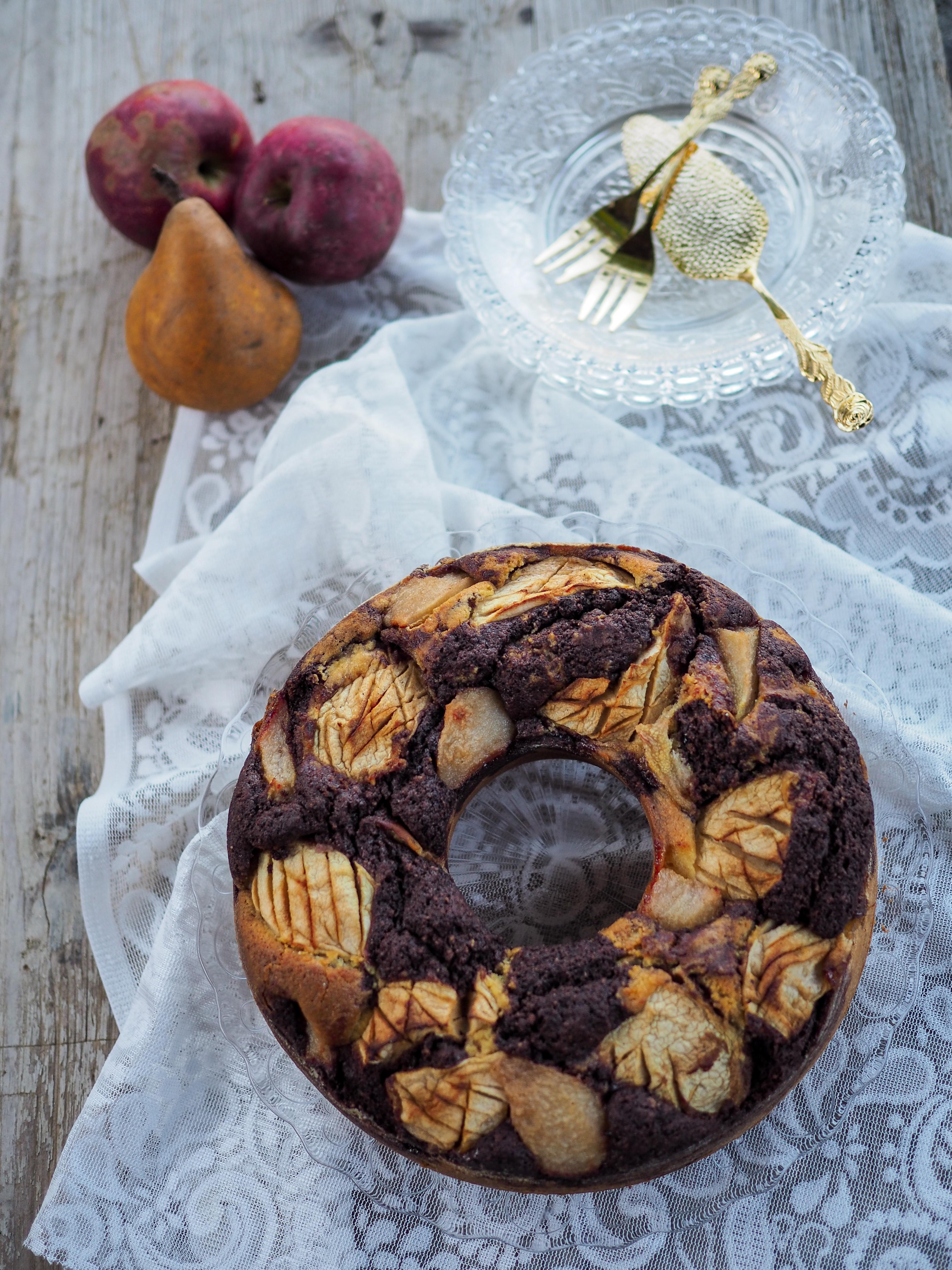 Cook | Apfel Birnen Marmorkuchen