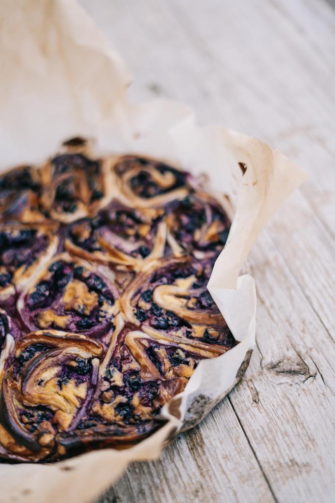 Cook | Schnelle Blaubeerschnecken mit Blätterteig